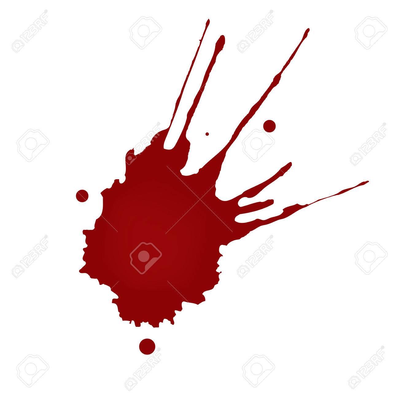 リアルな血しぶきのイラスト素材ベクタ Image 50142915