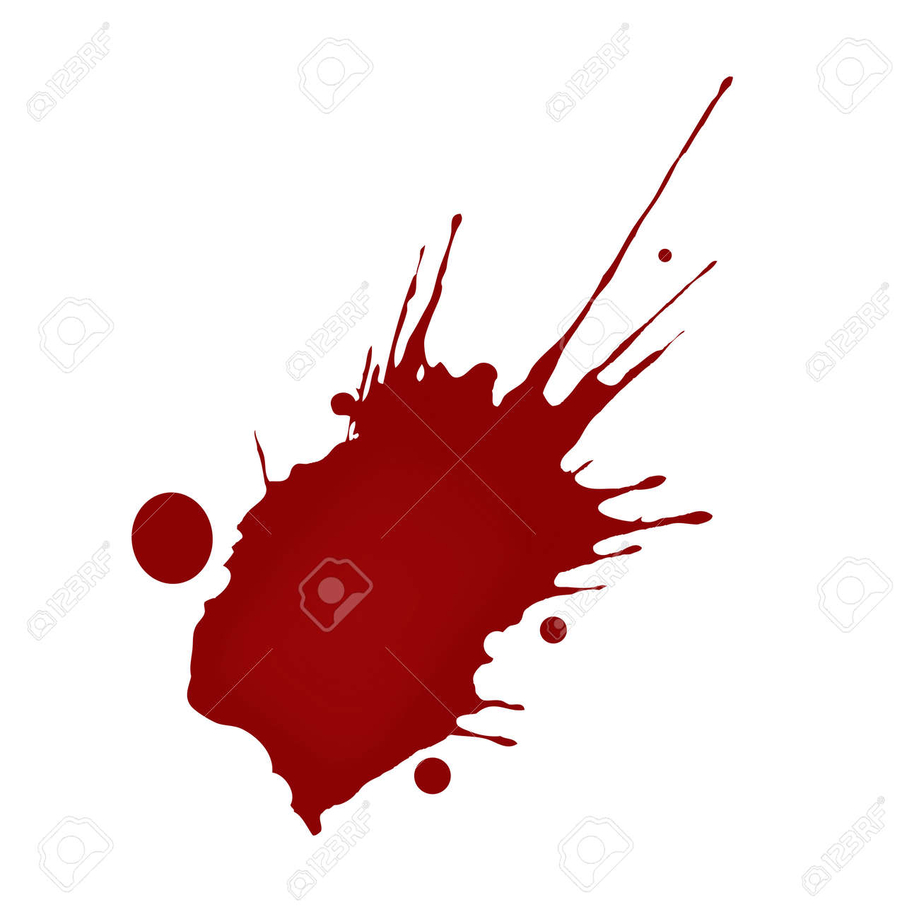 realistic blood splatters royalty free cliparts vectors and stock rh 123rf com blood splatter vector illustrator blood splatter transparent vector
