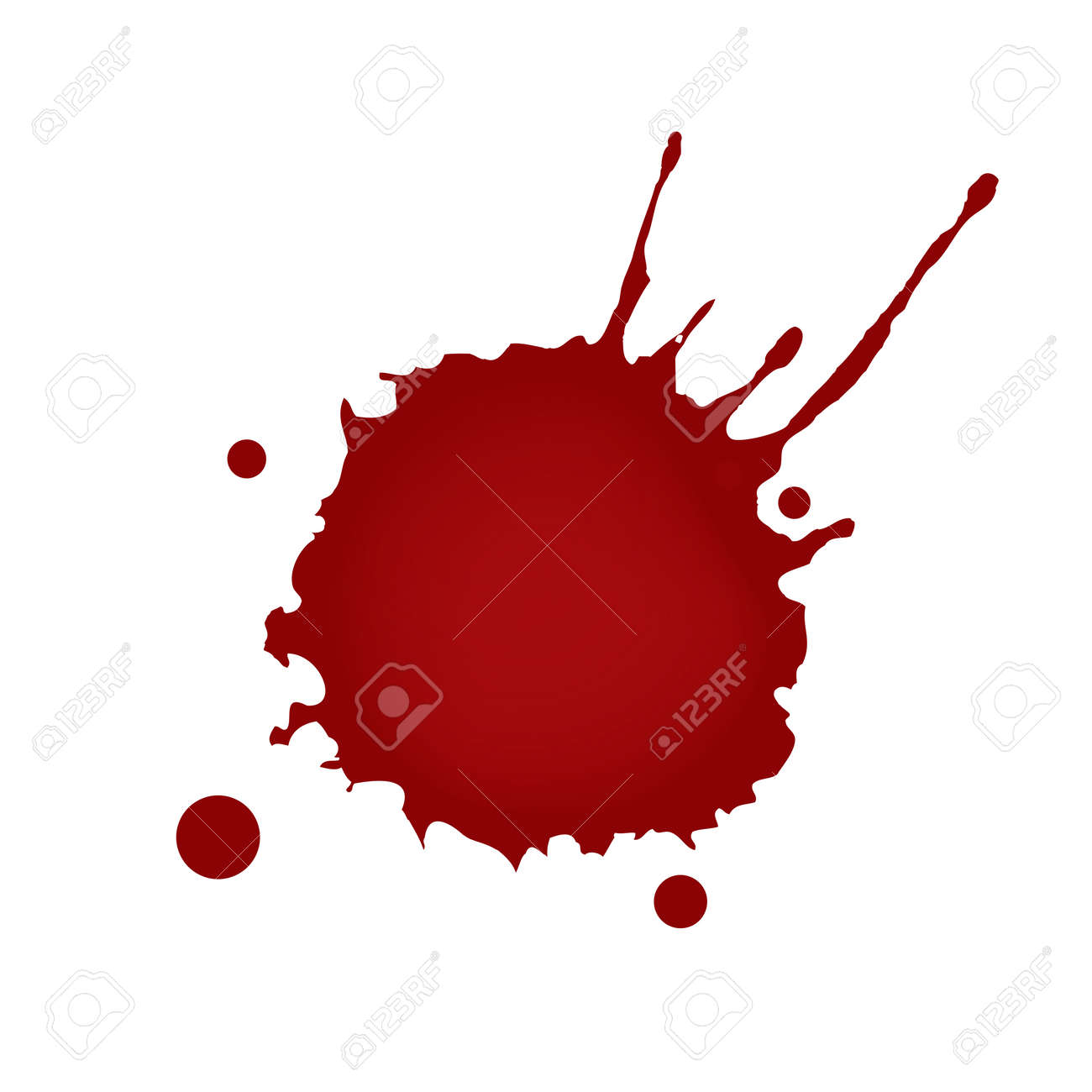realistic blood splatters royalty free cliparts vectors and stock rh 123rf com blood splatter vector art free blood splatter vector free download