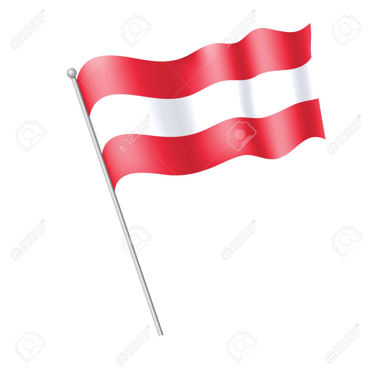 waving flag austria royalty free cliparts vectors and stock