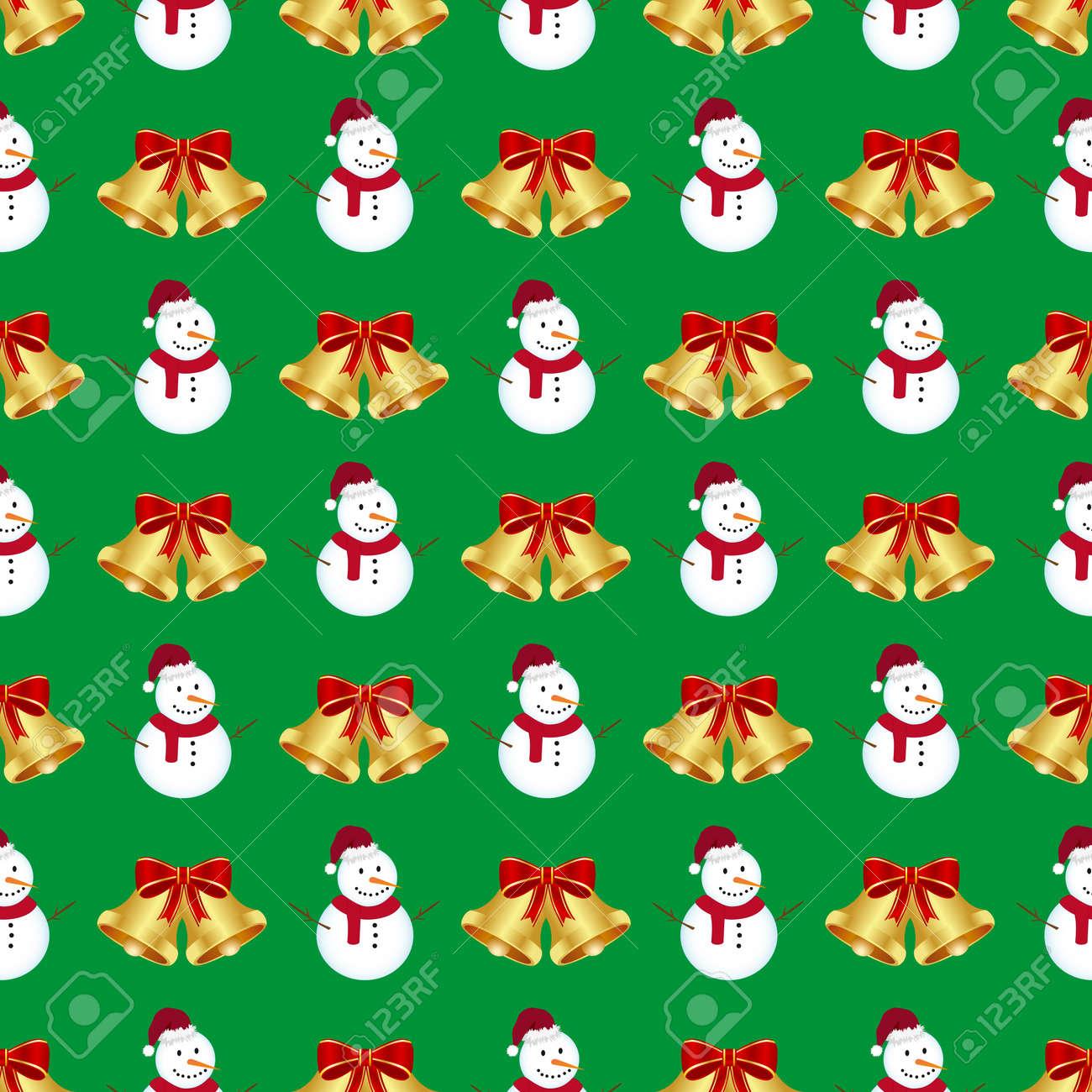 Christmas seamless pattern Stock Vector - 11656842