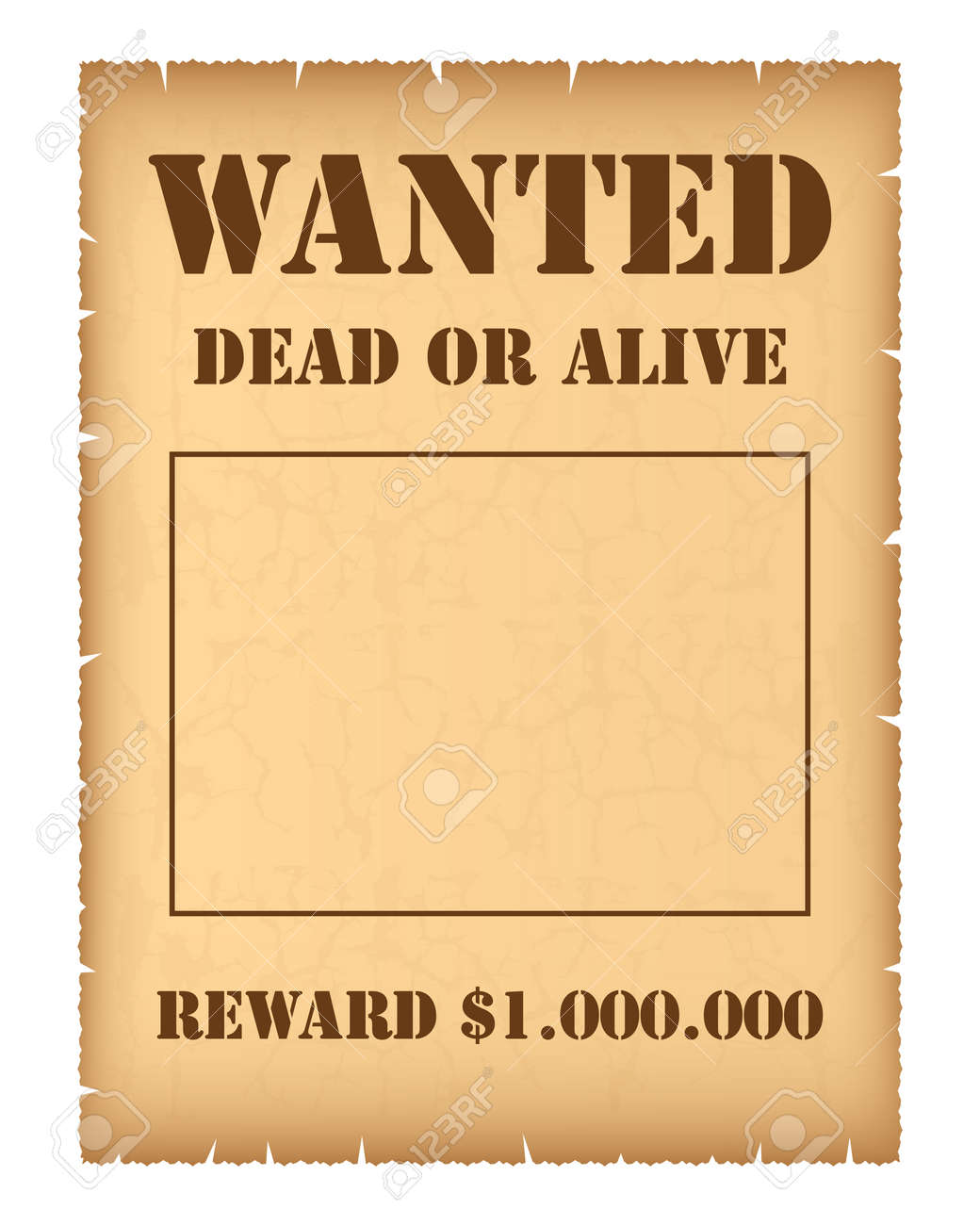 Wanted Poster Royalty Free Cliparts Vectors And – Wanted Sign Font