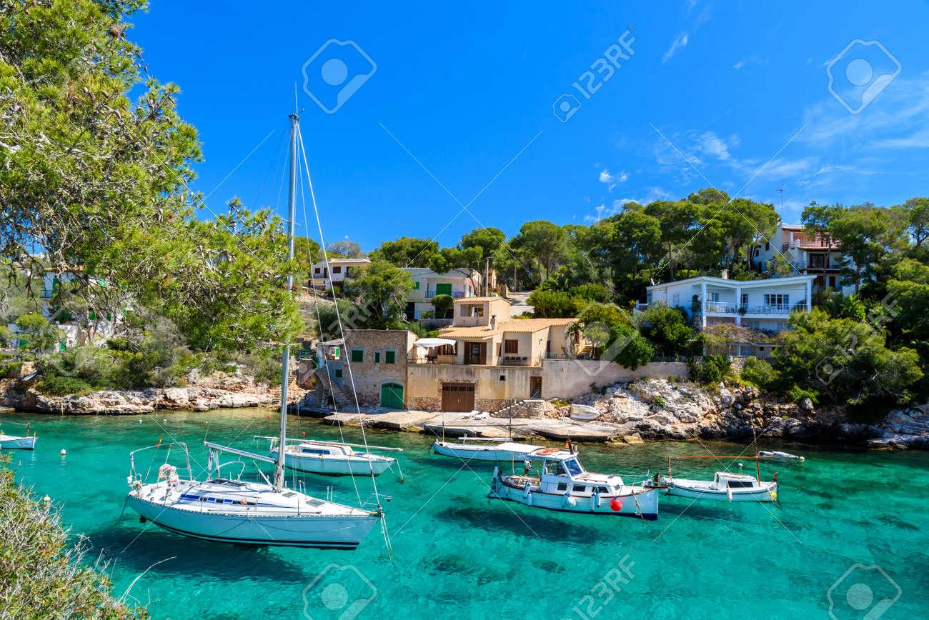 Beautiful coast of Cala Figuera - Spain, Mallorca - 82525095