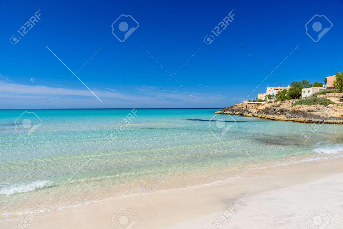 Beach Es Trenc - beautiful coast of Mallorca, Spain - 82816576