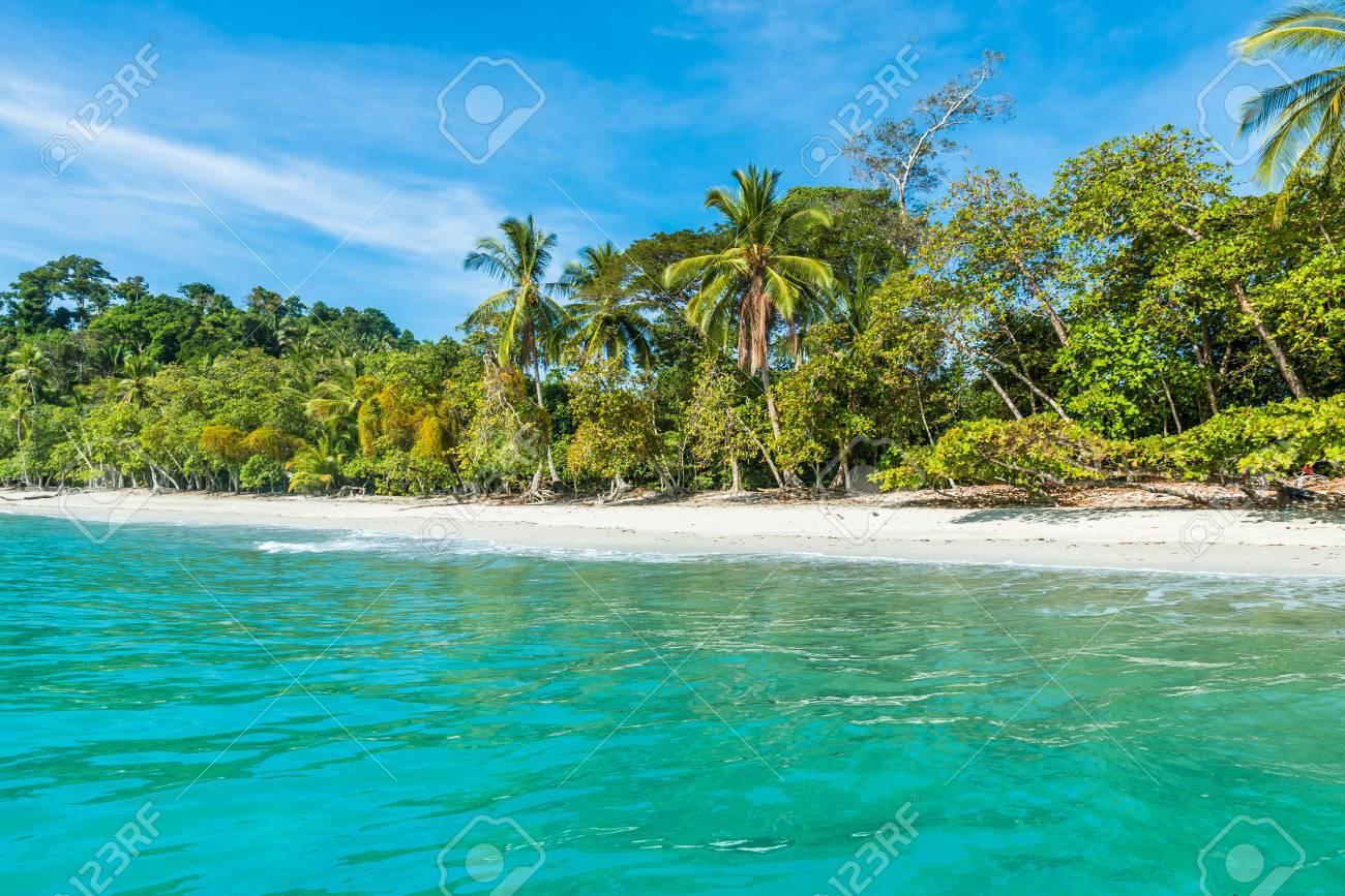 Manuel Antonio, Costa Rica - beautiful tropical beach - 83726988