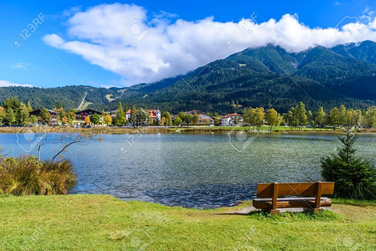 Lake Wildsee at Seefeld in Tirol, Austria - Europe - 83930107
