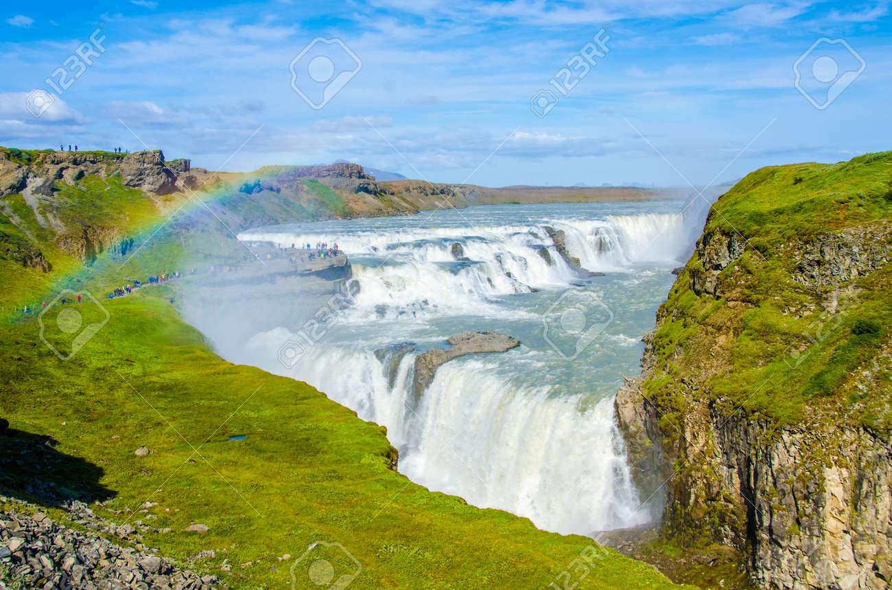 Gullfoss - Waterfall Iceland - 88067040