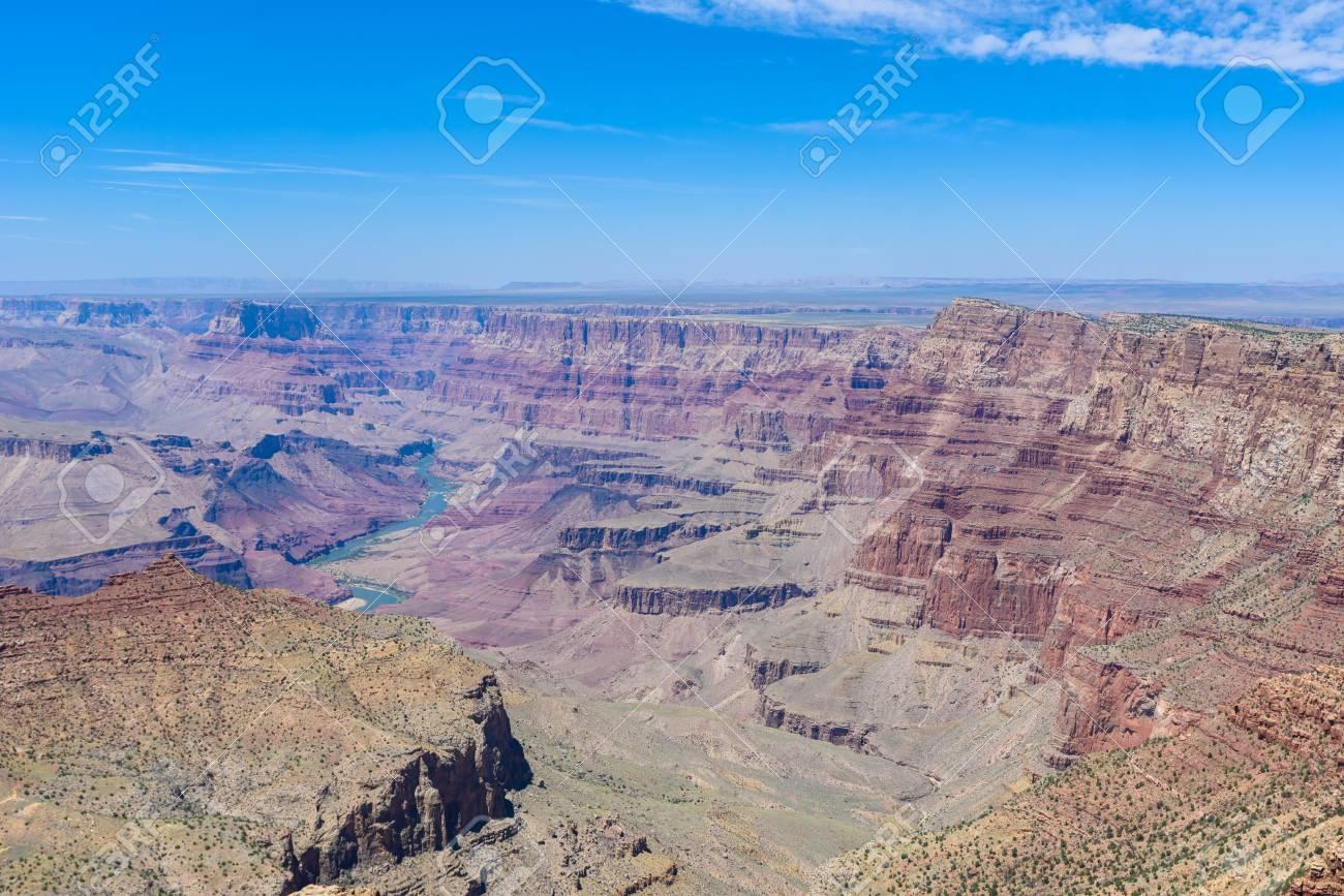 Navajo View Point at Grand Canyon National Park, Arizona, USA - 91169942