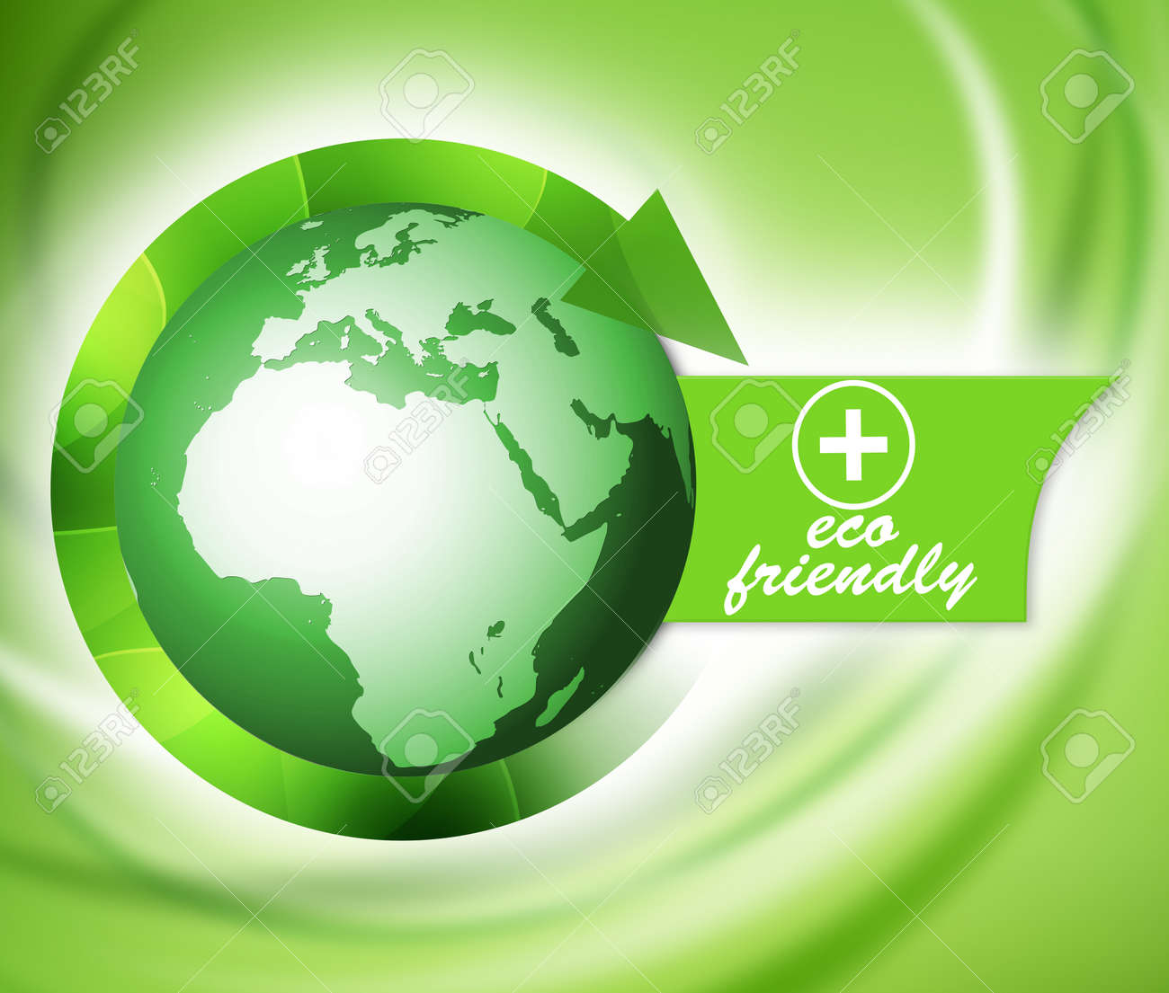 Green bio eco friendly world, life nature Stock Photo - 16557382