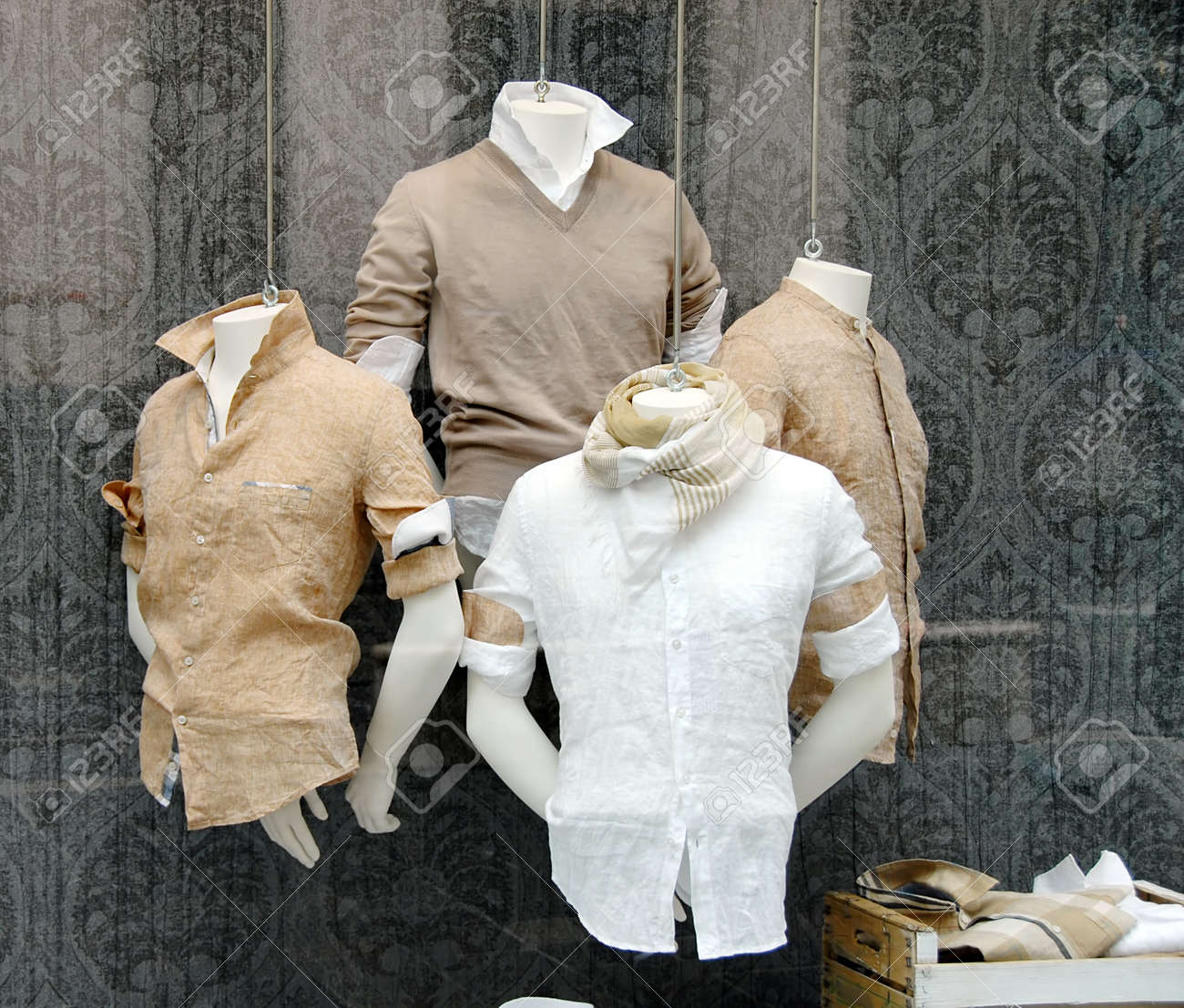 various fashionable men - 12786803