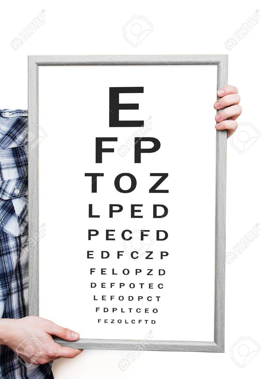 Man showing snellen eye exam chart on white background stock photo man showing snellen eye exam chart on white background stock photo 18724916 nvjuhfo Choice Image