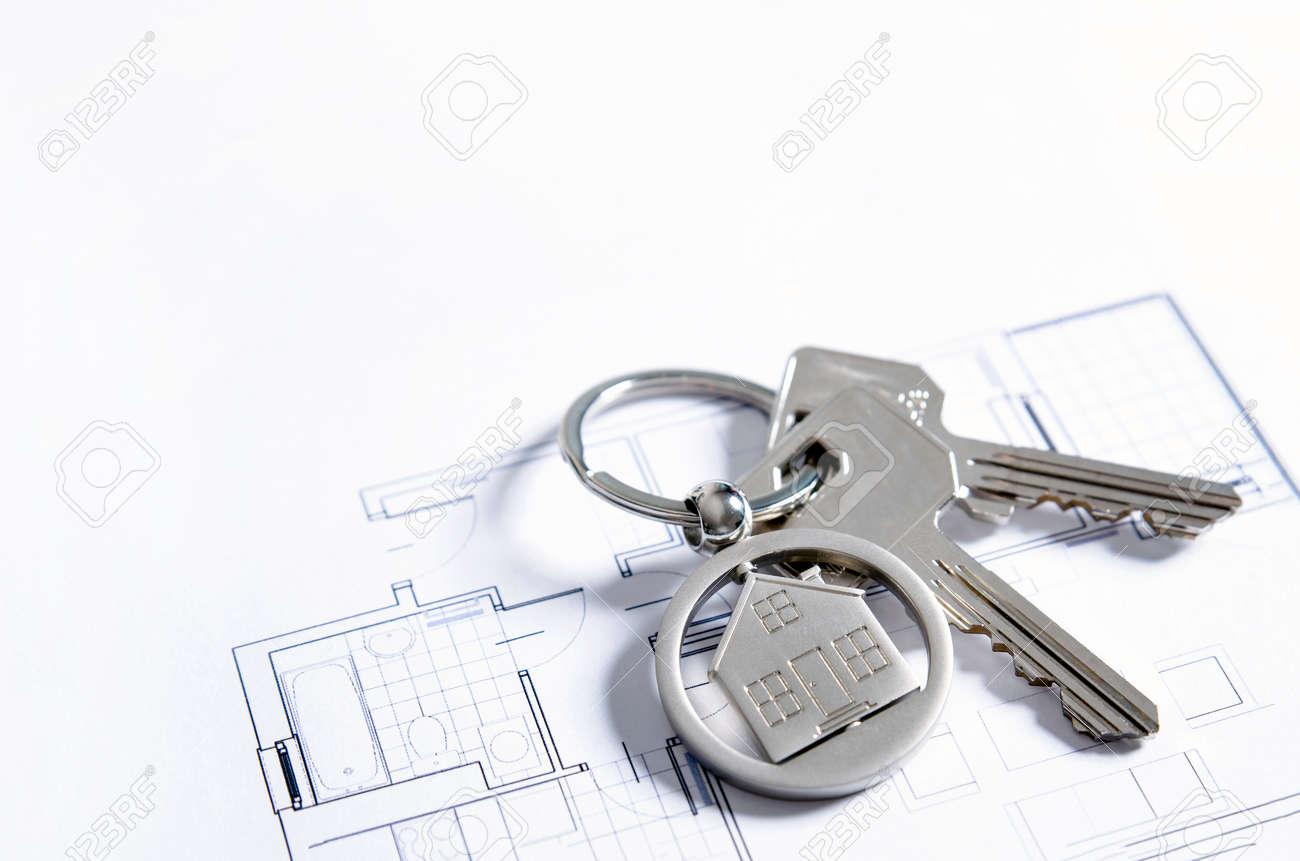 House key on a house shaped pendant real estate agent business house key on a house shaped pendant real estate agent business card template stock photo colourmoves