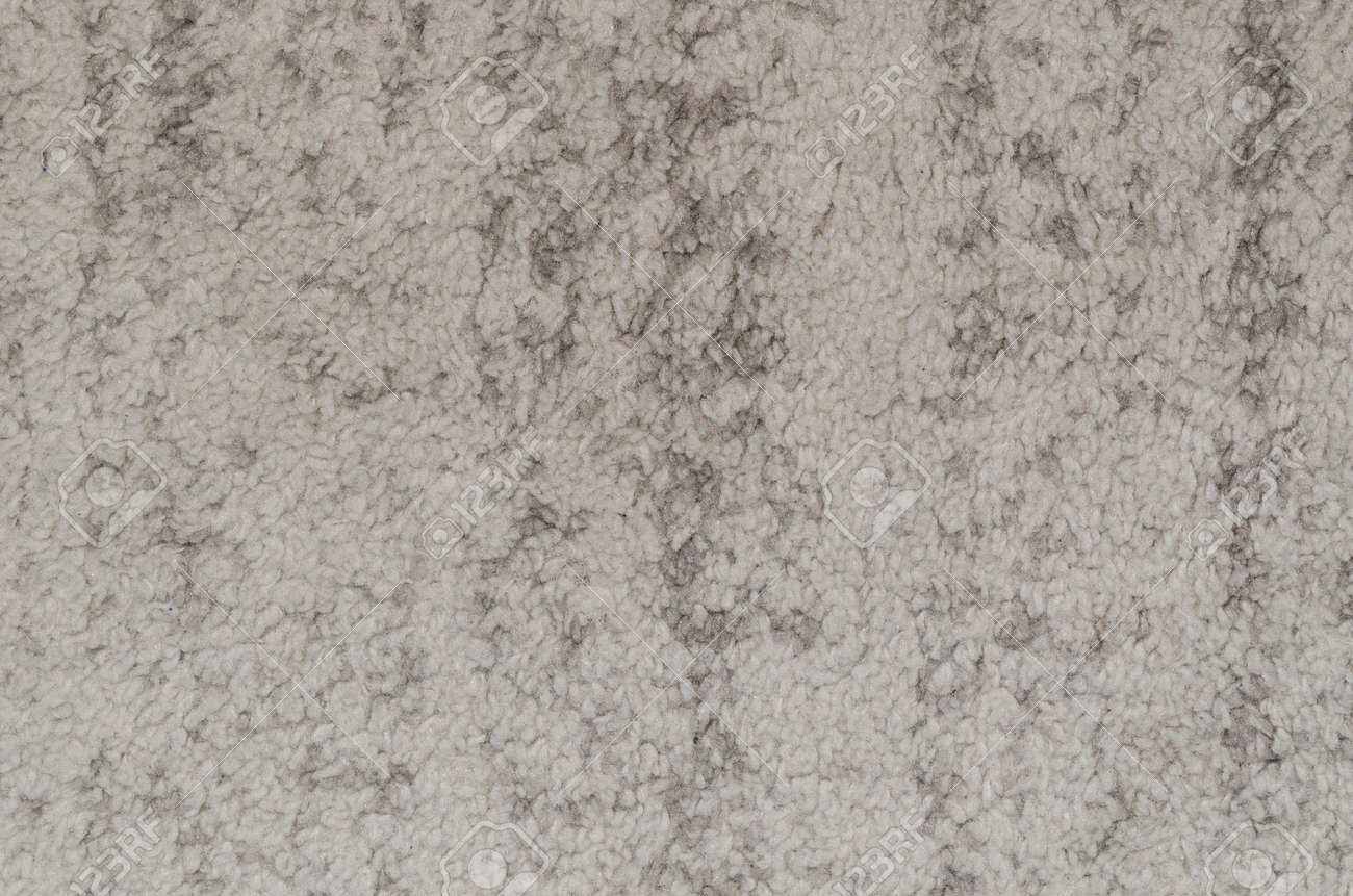 Gray carpet pattern texture. carpet texture fabric wool floor mat textile gray concept Stock Photo