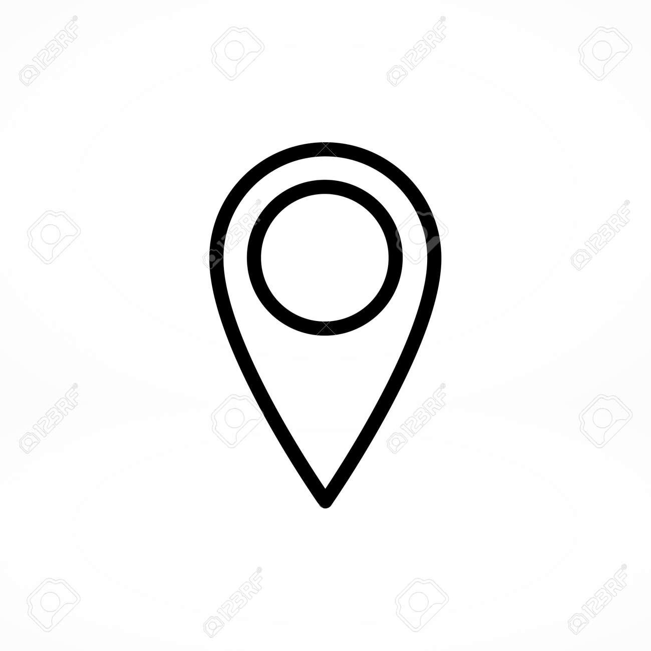 Icone Localisation icône de localisation clip art libres de droits , vecteurs et