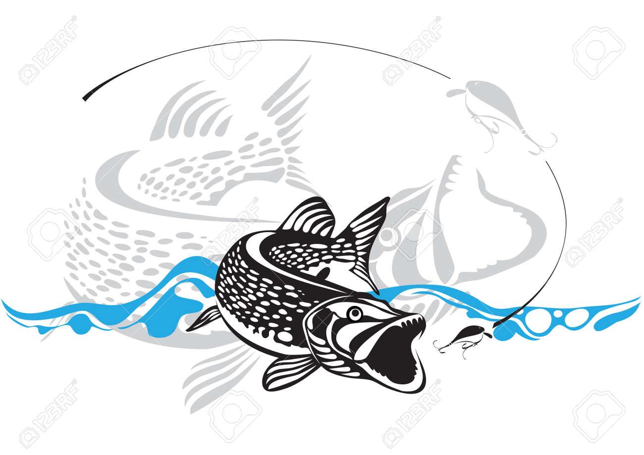 pike, fishing lure - 14119573