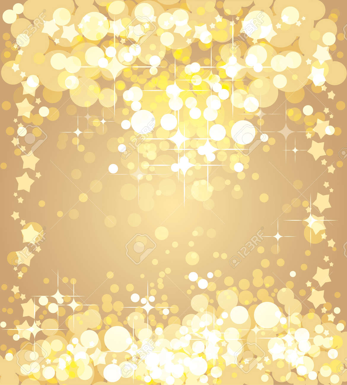 christmas gold background template royalty free cliparts vectors