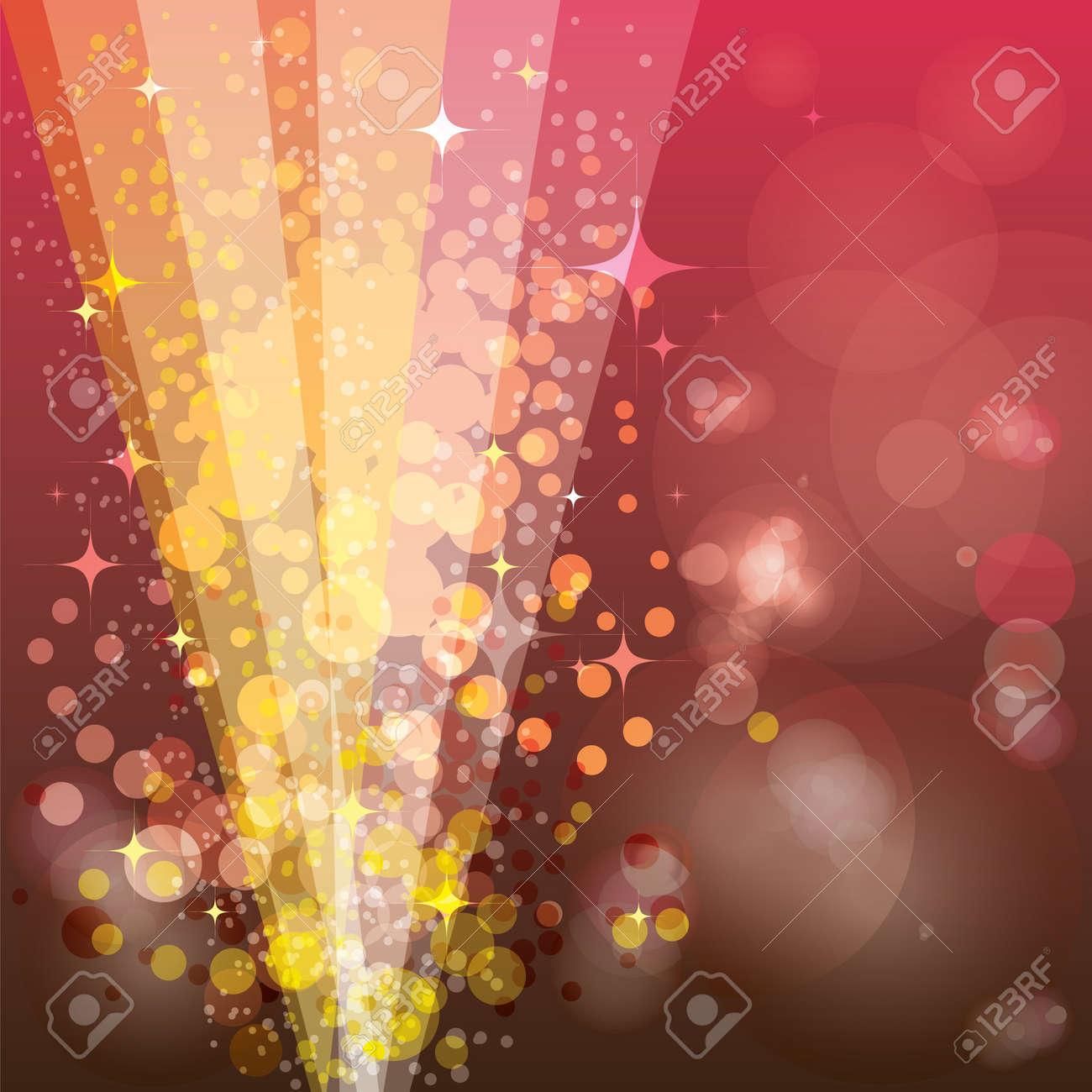 Festive background, luminous rays Stock Vector - 16530650