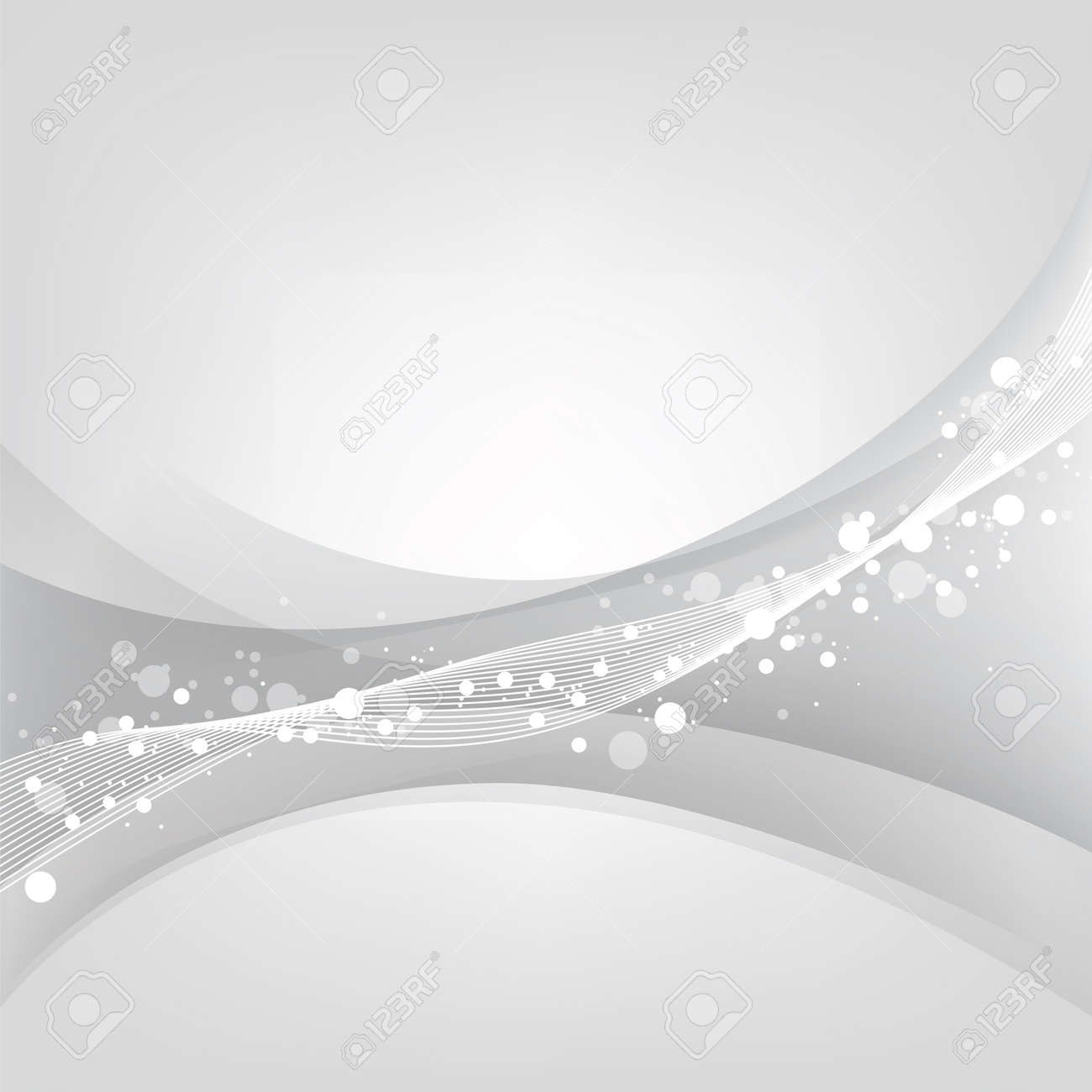 Silver abstract background - 16959282