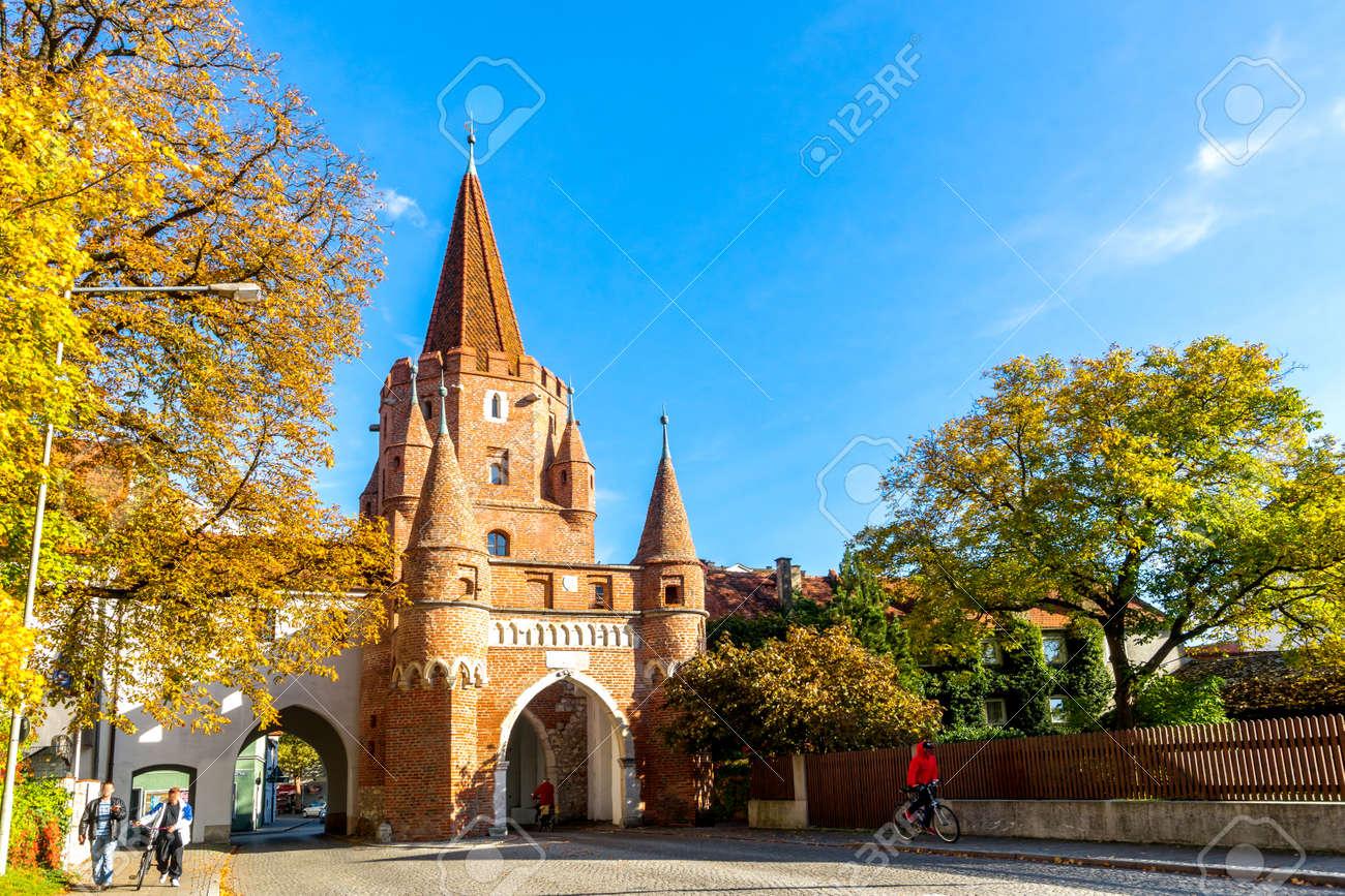 Kreuztor, Ingolstadt, Germany - 151168514