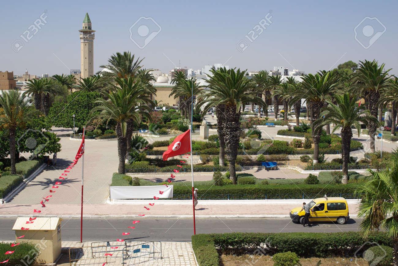 Types of Monastir in Tunisia, Africa in summer day Stock Photo - 16781585