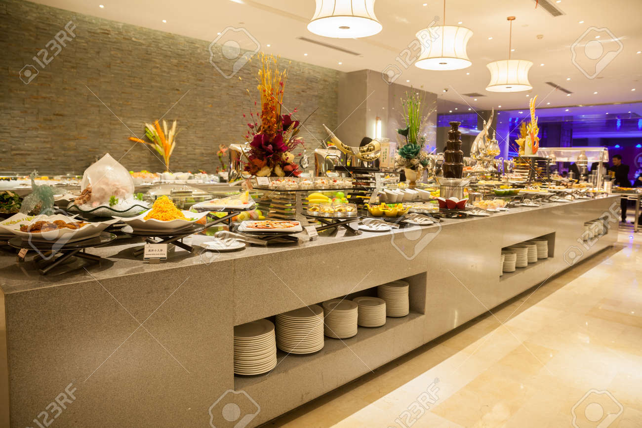 Buffet Restaurant The Hotel Restaurant Stock Photo Picture And Royalty Free Image Image 35438763