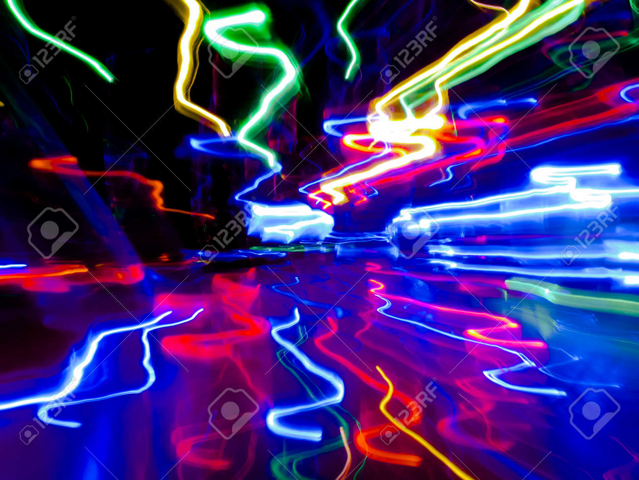 timeless design 5b5e9 fe867 Abstract light paint art with colorful lights backdrop high speed..