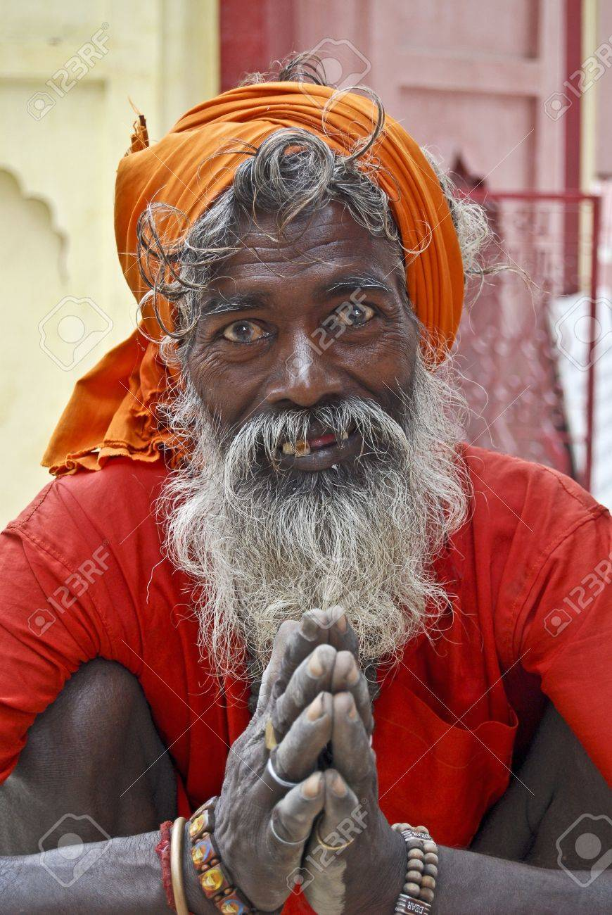 Sadhu Stock Photo - 7968929