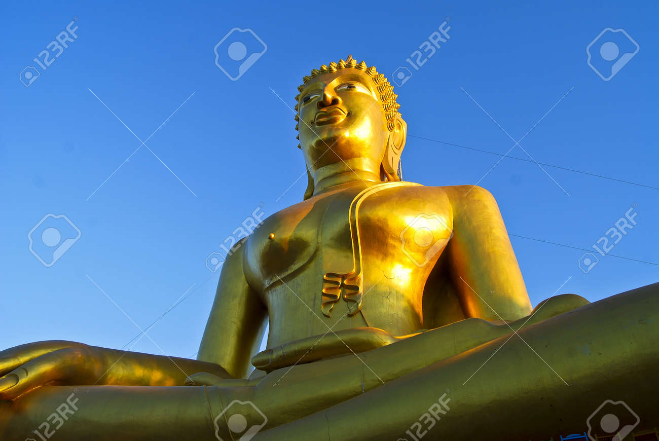 big buddha in pattaya city Stock Photo - 9802322