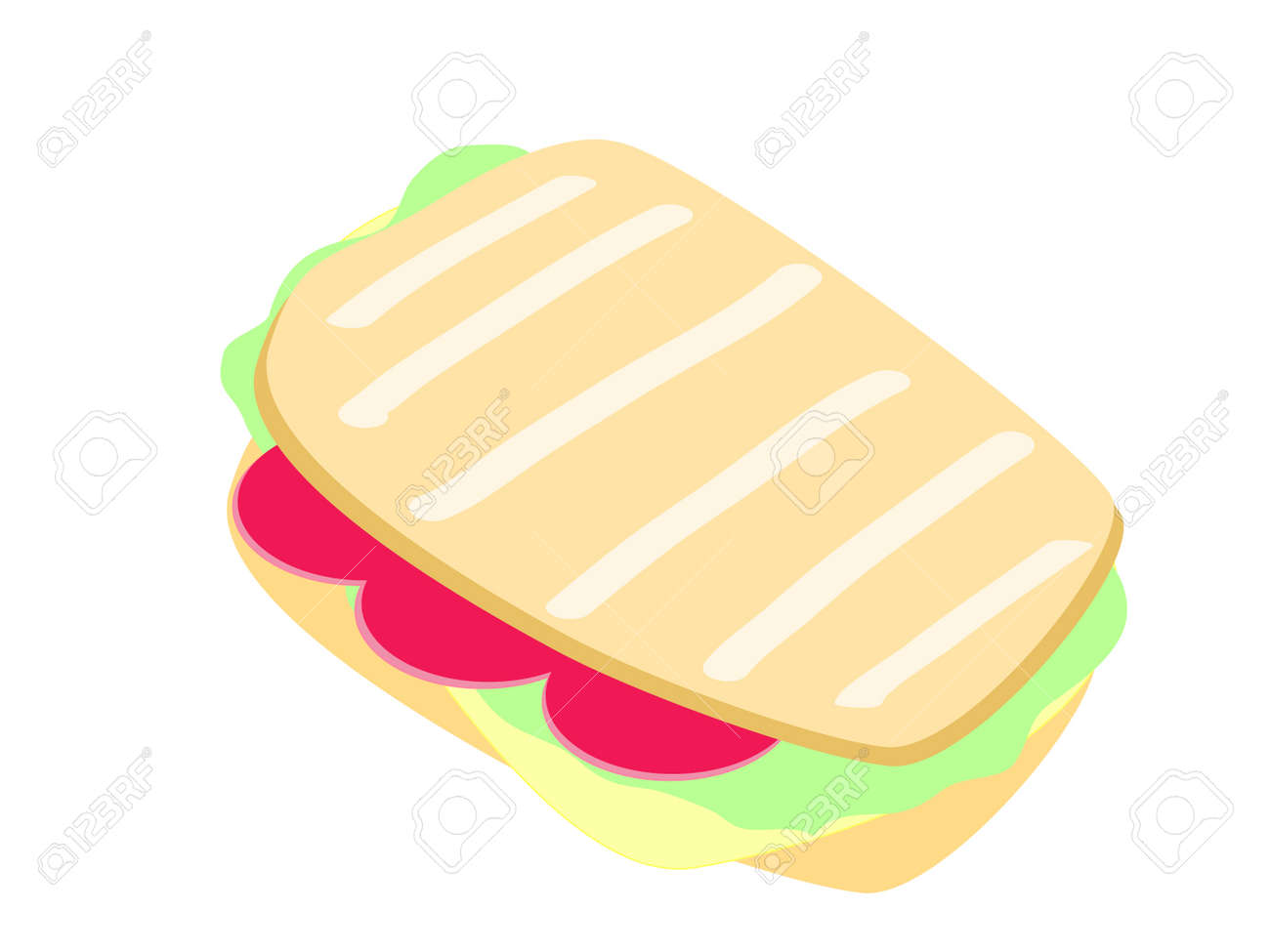 grilled cheese sandwich vector royalty free cliparts vectors and rh 123rf com  grilled cheese clipart