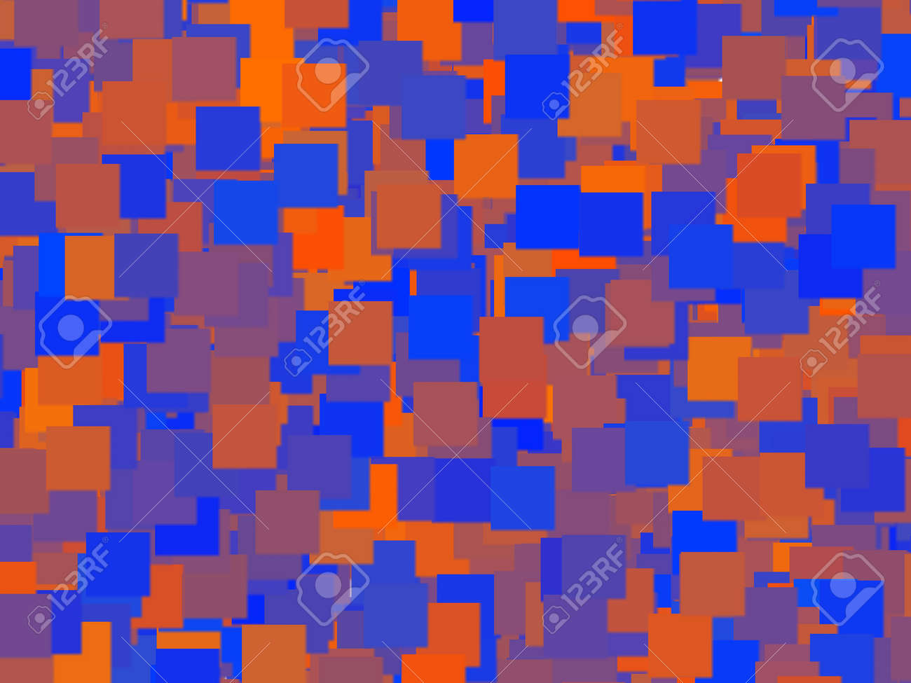 Square Digital Camo Background Stock Photo