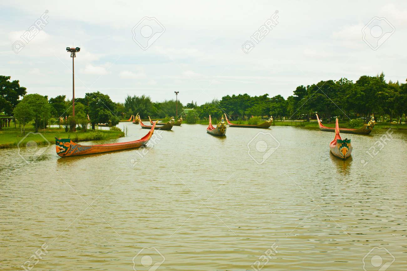 Stock Photo - Thailand Royal Barge Stock Photo - 14444727