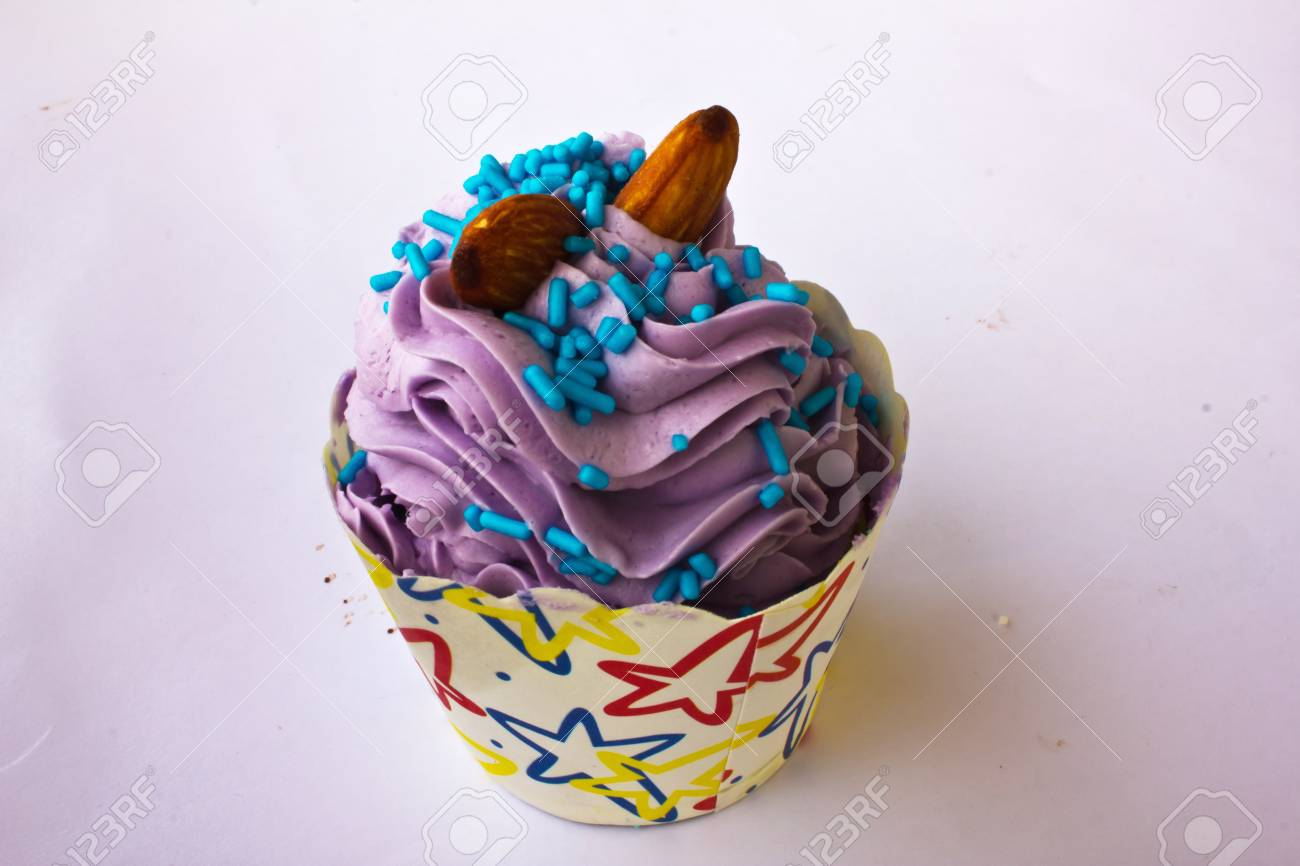 colorful of Cupcake selection Stock Photo - 15326643