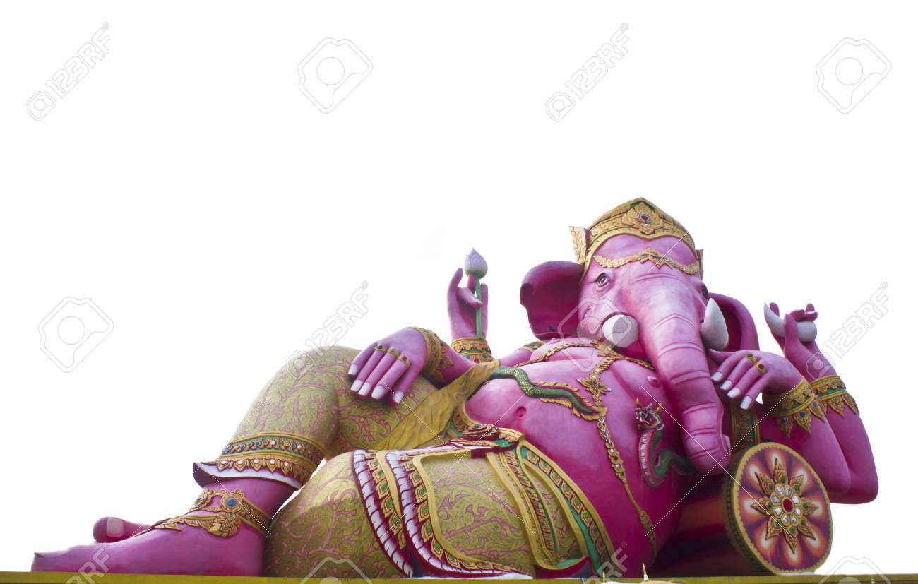 Stock Photo - Hindu god, Ganesh statue in Thailand Stock Photo - 16011735