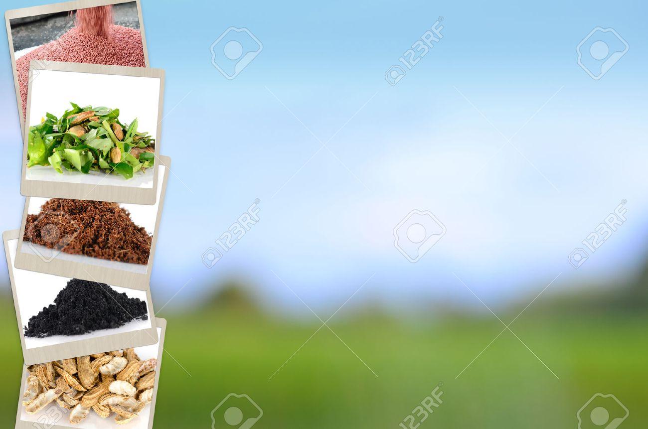 agriculture mineral and fertilizer slide for presentation background
