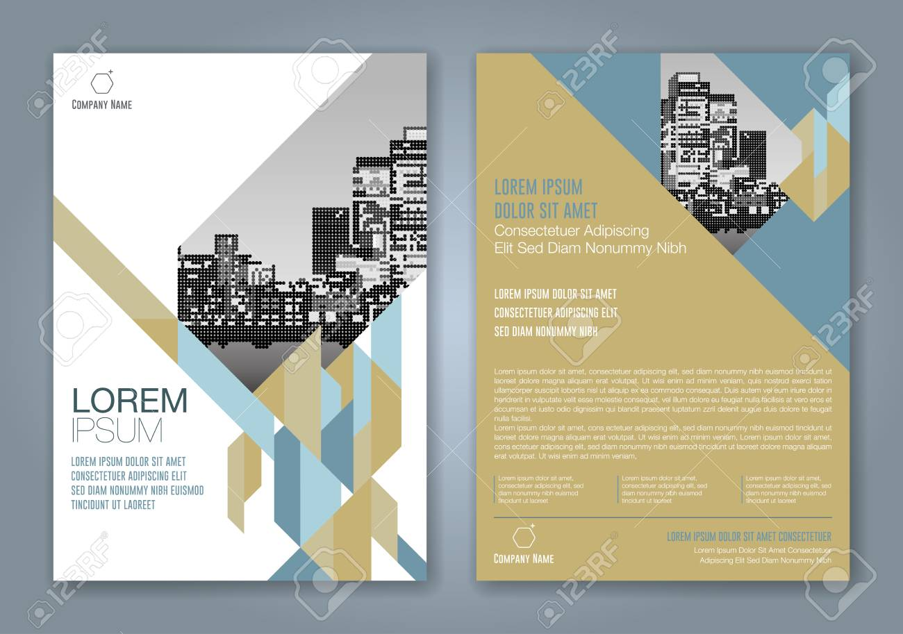 Abstract minimal geometric shapes polygon design background for business annual report book cover brochure flyer poster - 89120408