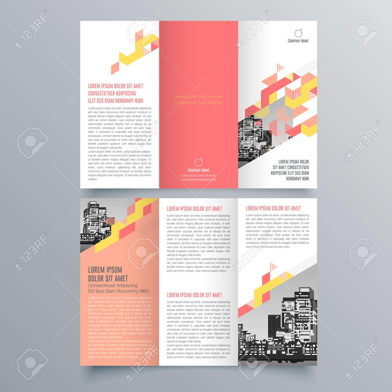 Brochure Design, Brochure Template, Creative Tri-fold, Trend ...
