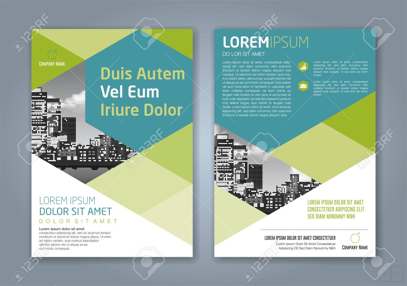 minimal geometric shapes design background for business annual report book cover brochure flyer poster - 141632959