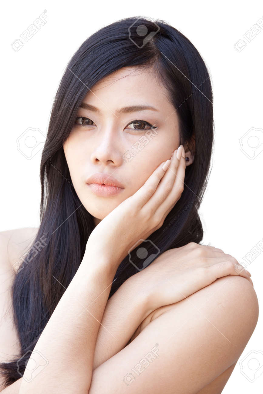 A portrait of beautiful Asian girl Stock Photo - 11372752