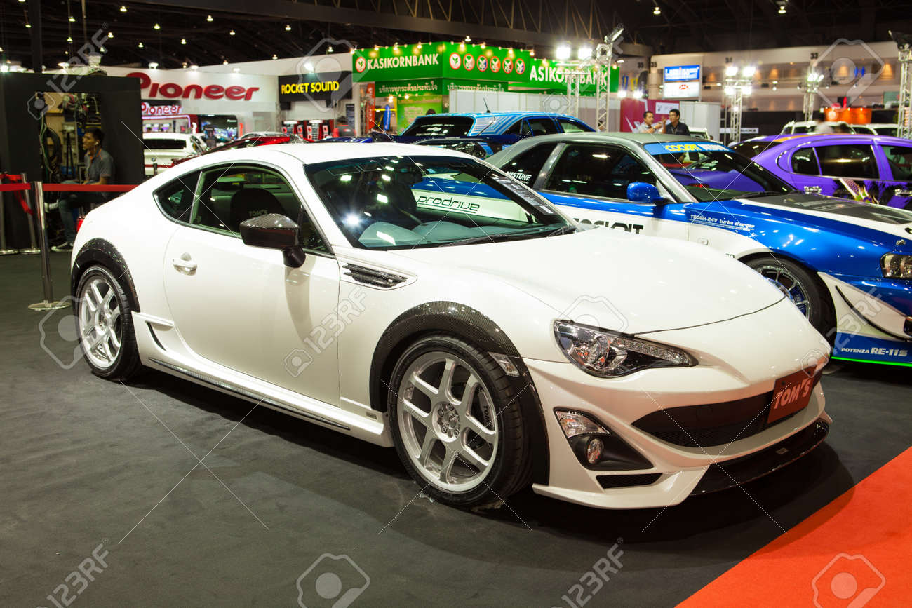 Nice NONTHABURI THAILAND JUNE 20 : Toyota 86 Modified By Tom Stock Photo    20738907