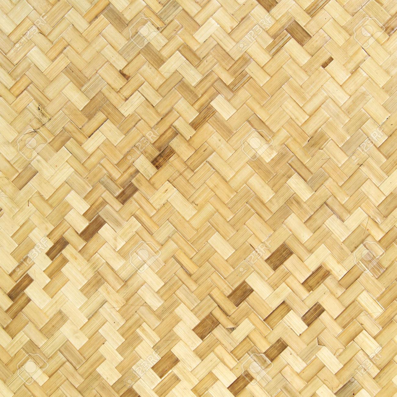 Native Thai style bamboo wall, natural wickerwork Stock Photo - 13853434