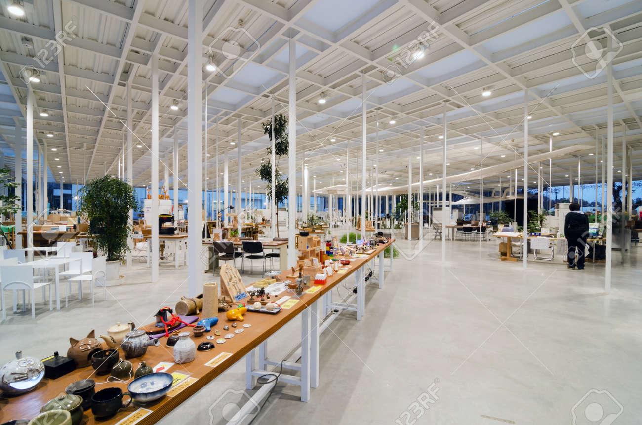Interior Of Modern Workshop In Kanagawa Institute Of Technology ...