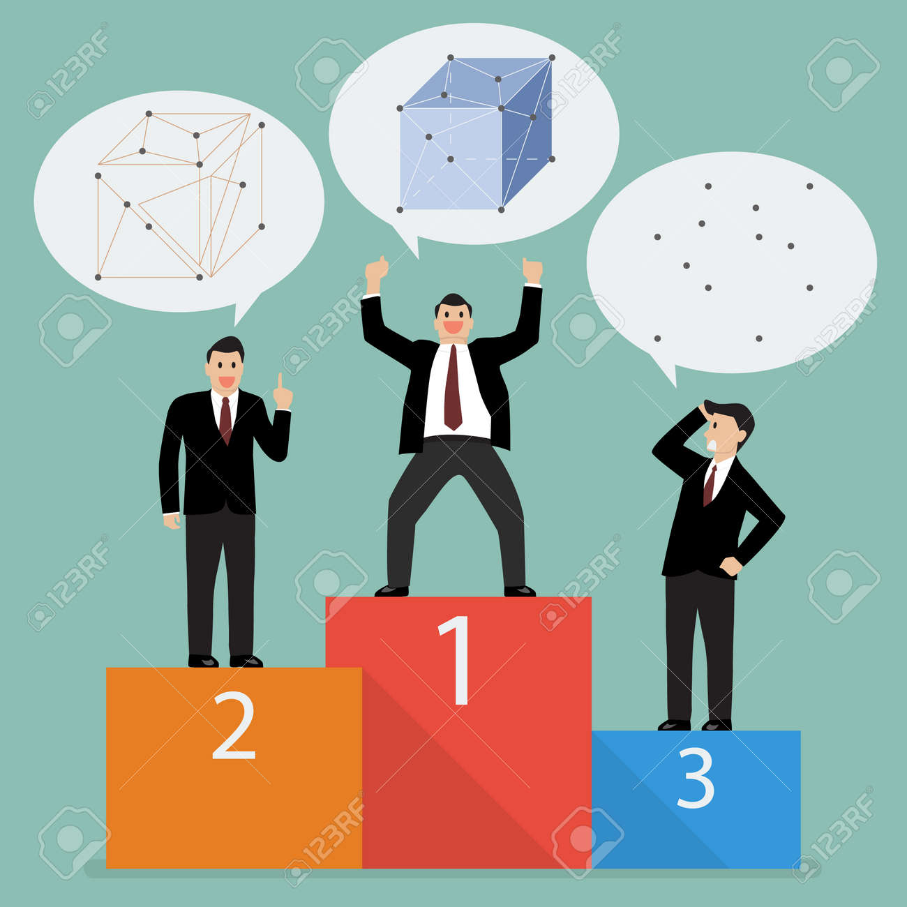 The winner is the one who can best analyze and connect information