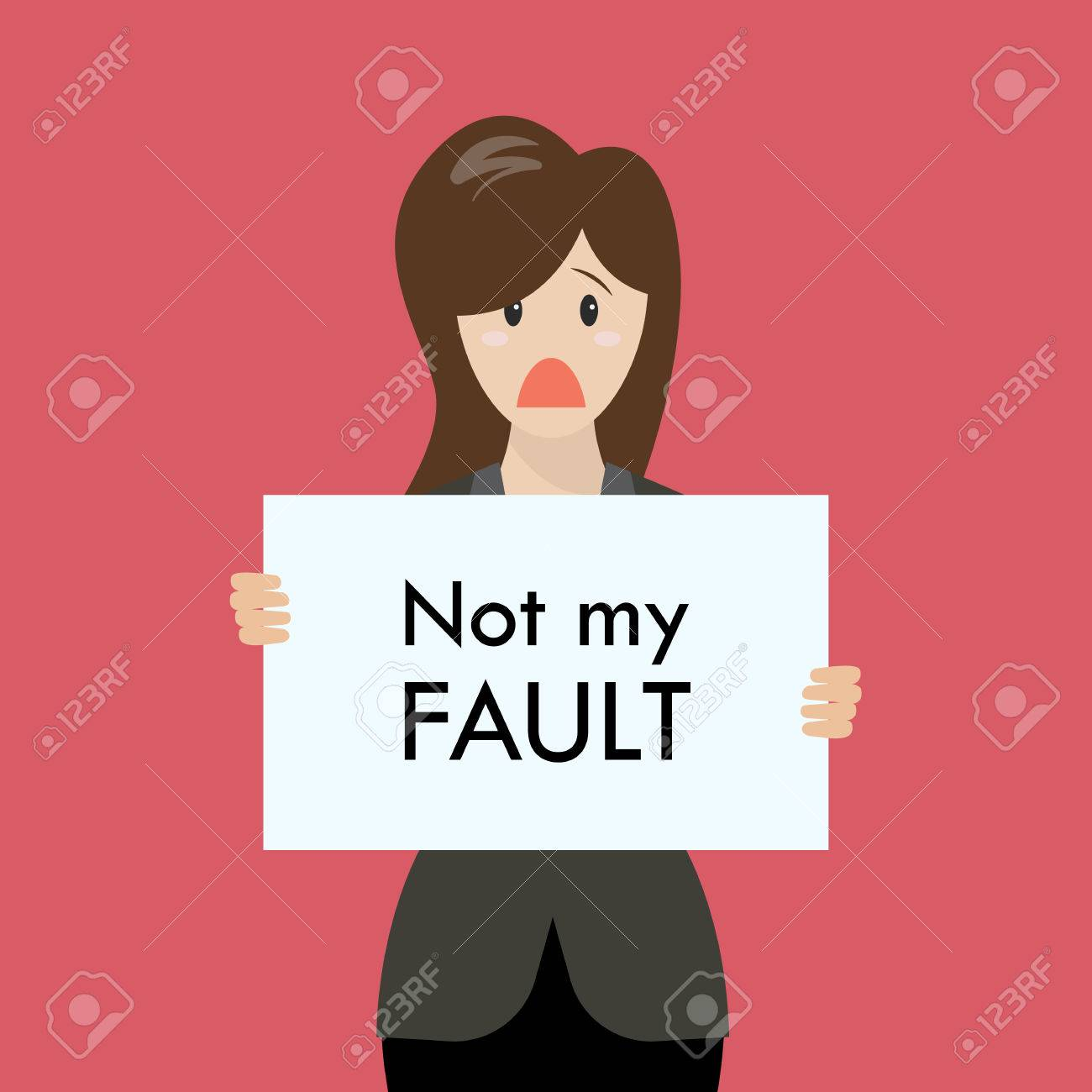 Image result for Not my fault