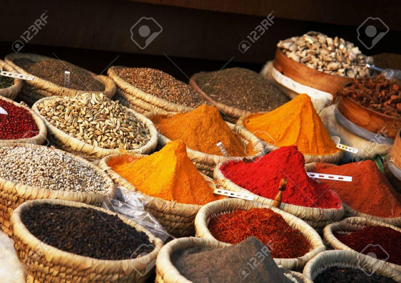 Egyptian spice market Stock Photo - 4243749