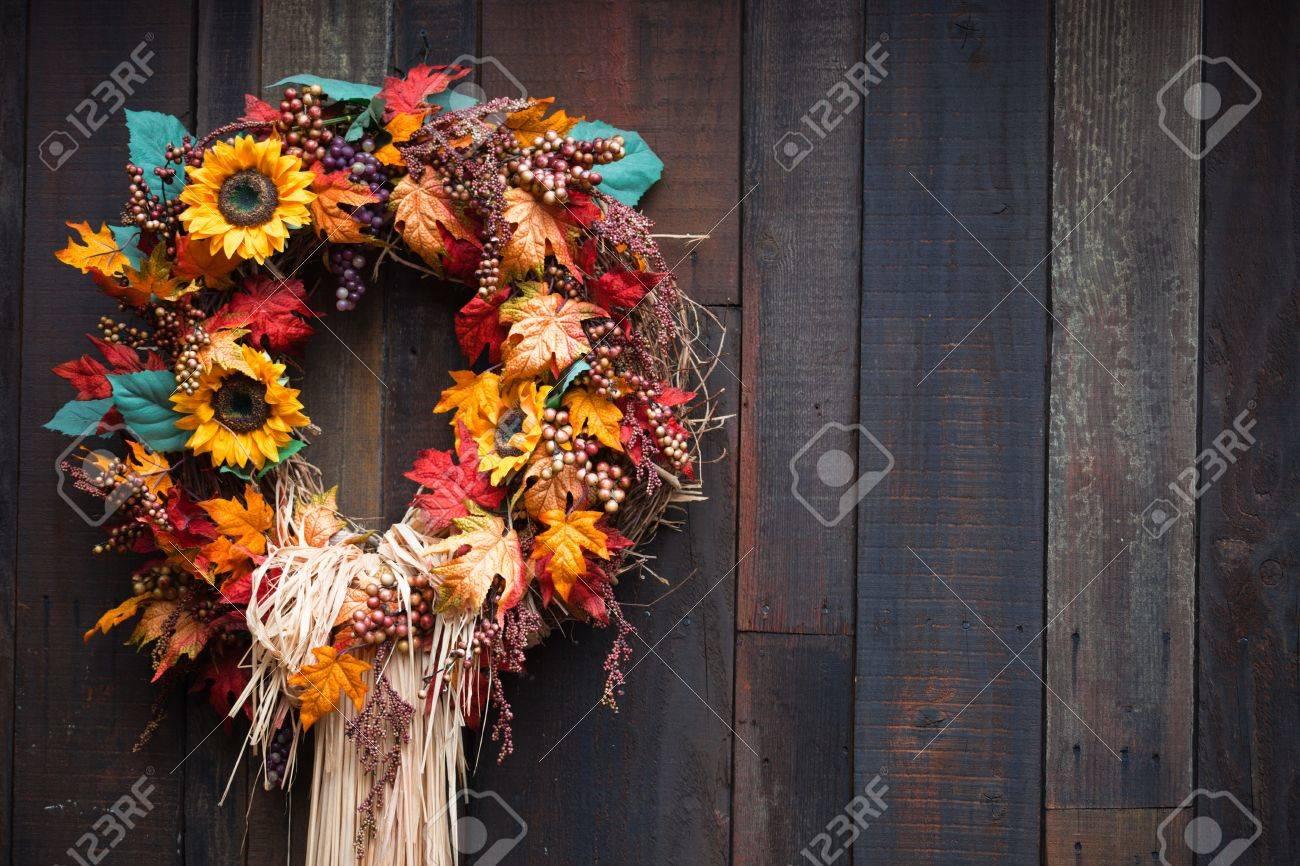 A close up of a Autumn display. Banque d'images - 8201957