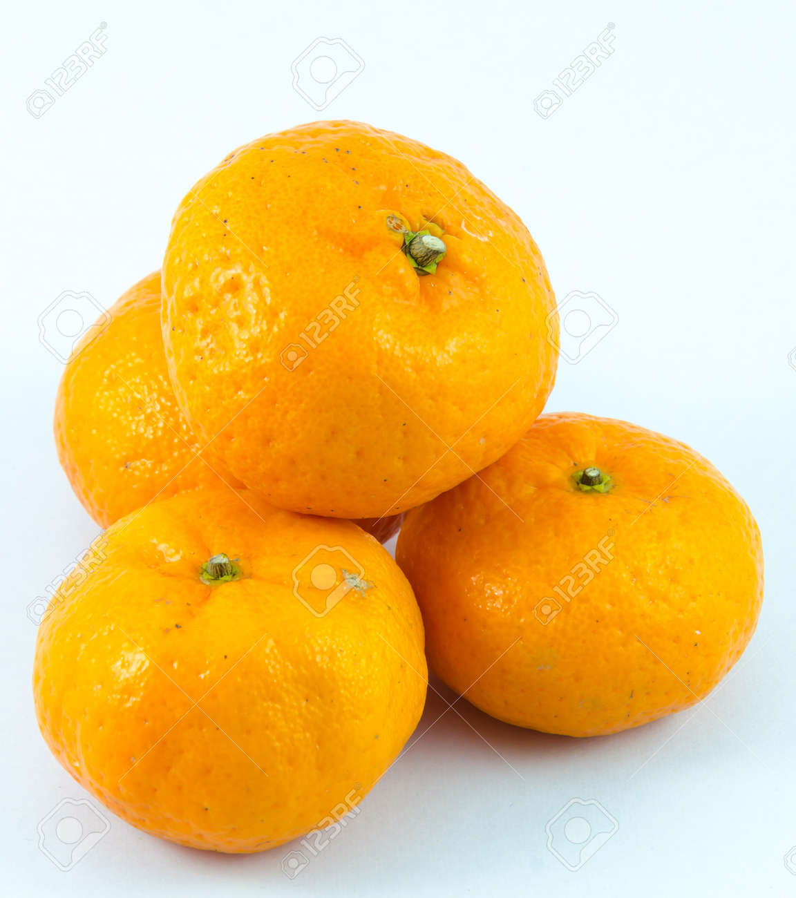 Orange with white backgrounds. Stock Photo - 17292607