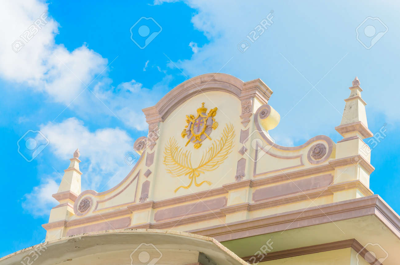 Church in bangkok province (Thailand.) Stock Photo - 17293699