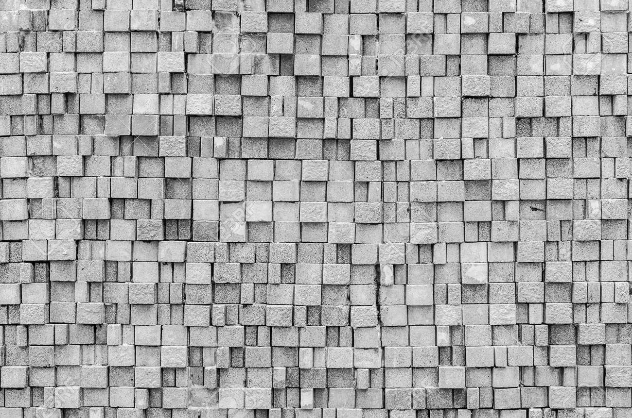 Stone texture for background&wallpaper (Process in black&white style) Standard-Bild - 21111461
