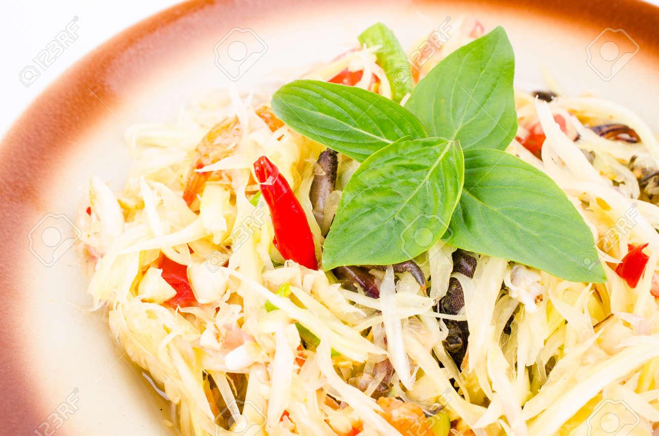 Spicy salad (Thai food) Stock Photo - 22762665
