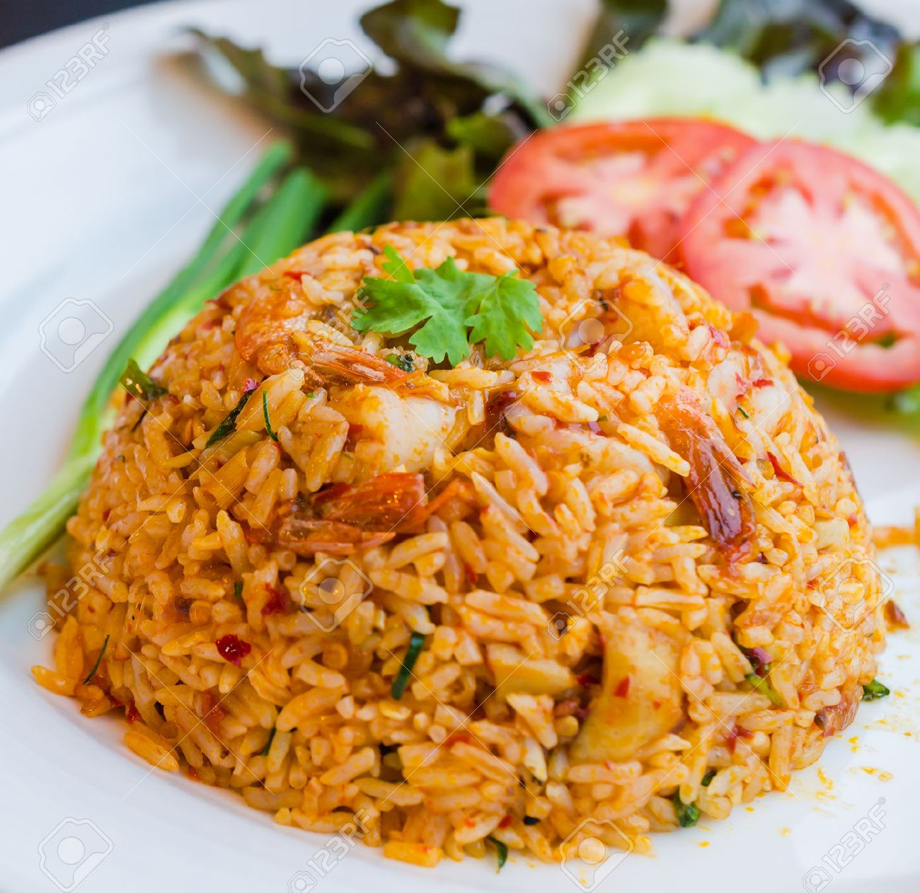 Spicy Fried rice Standard-Bild - 25268715